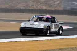 Ross Merrill - 1982 Porsche 911 in Group 1 - PCA Sholar-Friedman Cup for Porsche Club of America race cars at the 2018 Porsche Rennsport Reunion VI run at WeatherTech Raceway Laguna Seca