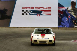 Dener Pires - 1970 Porsche 914/6 in Group 3 - Eifel Trophy for 911 (911 up to 2.5 liter), 911TR, 911ST, 914, 914/6 at the 2018 Porsche Rennsport Reunion VI run at WeatherTech Raceway Laguna Seca