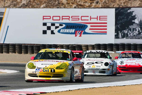 Alexander Marmureanu - 2013 Porsche 997 GT3R in Group 7 - Flacht Cup for 964, 993, 996, 997 GT Cars at the 2018 Porsche Rennsport Reunion VI run at WeatherTech Raceway Laguna Seca
