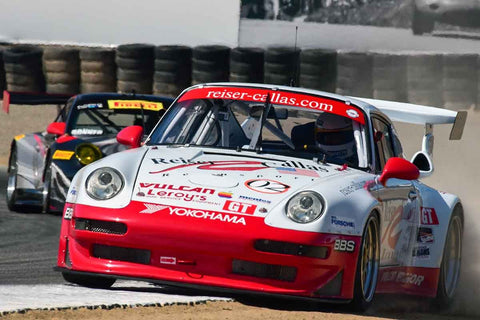 Egidio Perfetti - 1997 Porsche 993 RSR in Group 7 - Flacht Cup for 964, 993, 996, 997 GT Cars at the 2018 Porsche Rennsport Reunion VI run at WeatherTech Raceway Laguna Seca
