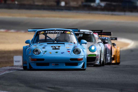 Steve Marshall - 1999 Porsche 911 GT2 in Group 7 - Flacht Cup for 964, 993, 996, 997 GT Cars at the 2018 Porsche Rennsport Reunion VI run at WeatherTech Raceway Laguna Seca