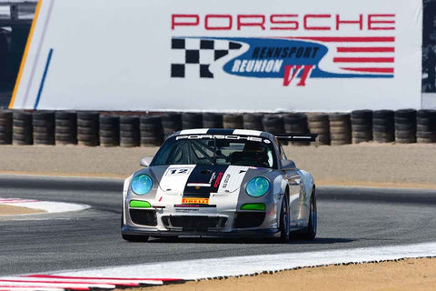 Ranson Webster - 2013 Porsche GT3 Cup in Group 7 - Flacht Cup for 964, 993, 996, 997 GT Cars at the 2018 Porsche Rennsport Reunion VI run at WeatherTech Raceway Laguna Seca