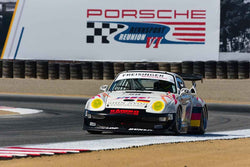 Hurley Haywood - 1991 Porsche 911 Turbo S2 in Group 7 - Flacht Cup for 964, 993, 996, 997 GT Cars at the 2018 Porsche Rennsport Reunion VI run at WeatherTech Raceway Laguna Seca