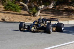 Gregory Thornton - 1982 Lotus 91 in Group 10 - Masters USA Formula 1 at the 2018 SCRAMP Monterey Pre-Reunion run at WeatherTech Raceway Laguna Seca