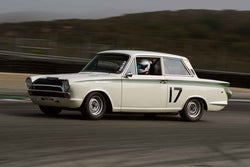 Raymond Meister - 1966 Lotus Cortina in Group 3 - 1961-1966 GT Cars under 2500cc at the 2018 SCRAMP Monterey Pre-Reunion run at WeatherTech Raceway Laguna Seca