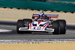 Seb Coppola - 1970 Lola T192 F5000 in Group 4 - 1968-1976 Formula 5000 at the 2018 SCRAMP Monterey Pre-Reunion run at WeatherTech Raceway Laguna Seca