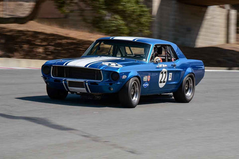 Byron Countryman - 1966 Shelby GT350H in Group 6 - 1966-1972 Trans-Am at the 2018 SCRAMP Monterey Pre-Reunion run at WeatherTech Raceway Laguna Seca