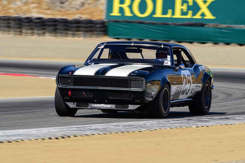 Ronald Atchley - 1968 Chevrolet Camaro Z28 in Group 6 - 1966-1972 Trans-Am at the 2018 SCRAMP Monterey Pre-Reunion run at WeatherTech Raceway Laguna Seca