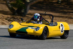Joshua Feiber - 1962 Lotus 23 in Group 7 - FIA Manufactures Championship at the 2018 SCRAMP Monterey Pre-Reunion run at WeatherTech Raceway Laguna Seca