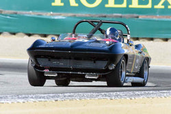Jeffrey Abramson - 1964 Chevrolet Corvette in Group 7 - FIA Manufactures Championship at the 2018 SCRAMP Monterey Pre-Reunion run at WeatherTech Raceway Laguna Seca
