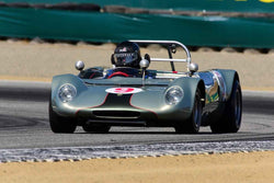 Scott Drnek - 1965 Lotus 23C in Group 7 - FIA Manufactures Championship at the 2018 SCRAMP Monterey Pre-Reunion run at WeatherTech Raceway Laguna Seca