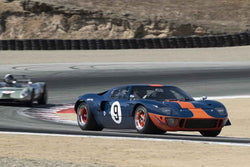 Alex MacAllister - 1966 Ford GT40 in Group 7 - FIA Manufactures Championship at the 2018 SCRAMP Monterey Pre-Reunion run at WeatherTech Raceway Laguna Seca
