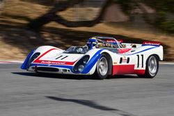 Dener Pires - 1969 Porsche 908/02 in Group 7 - FIA Manufactures Championship at the 2018 SCRAMP Monterey Pre-Reunion run at WeatherTech Raceway Laguna Seca