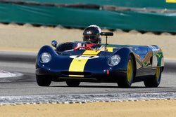 Robert Davis - 1963 Lotus 23 in Group 7 - FIA Manufactures Championship at the 2018 SCRAMP Monterey Pre-Reunion run at WeatherTech Raceway Laguna Seca