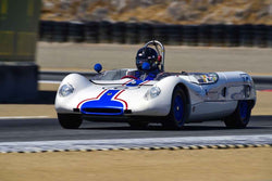 Jim Storer - 1963 Lotus 23B in Group 7 - FIA Manufactures Championship at the 2018 SCRAMP Monterey Pre-Reunion run at WeatherTech Raceway Laguna Seca