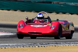Bob Kullas - 1969 Chevron B16 in Group 7 - FIA Manufactures Championship at the 2018 SCRAMP Monterey Pre-Reunion run at WeatherTech Raceway Laguna Seca