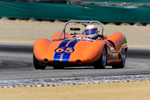 Don Anderson - 1964 Bobsy-Porsche SR3 in Group 7 - FIA Manufactures Championship at the 2018 SCRAMP Monterey Pre-Reunion run at WeatherTech Raceway Laguna Seca