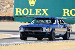 Drew Alcazar - 1969 Ford Shelby GT350 in Group 7 - FIA Manufactures Championship at the 2018 SCRAMP Monterey Pre-Reunion run at WeatherTech Raceway Laguna Seca