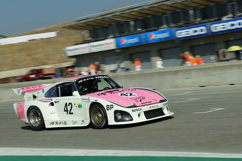 Ranson Webster - 1976 Porsche 935 K3 in Group 8 - 1981-1991 IMSA, GTO, GTP at the 2018 SCRAMP Monterey Pre-Reunion run at WeatherTech Raceway Laguna Seca