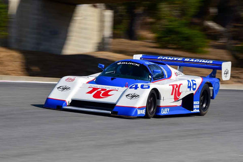 Ken Dobson - 1985 March 85G in Group 8 - 1981-1991 IMSA, GTO, GTP at the 2018 SCRAMP Monterey Pre-Reunion run at WeatherTech Raceway Laguna Seca