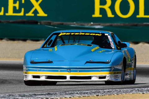 Ken Epsman - 1984 Pontiac Firebird in Group 8 - 1981-1991 IMSA, GTO, GTP at the 2018 SCRAMP Monterey Pre-Reunion run at WeatherTech Raceway Laguna Seca