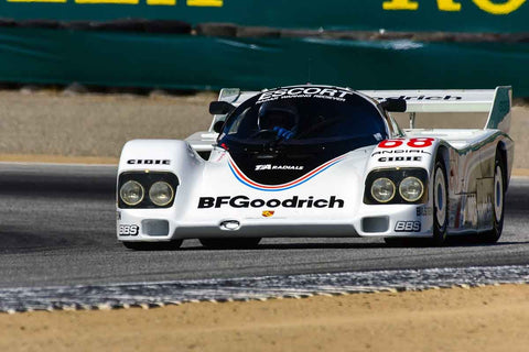 David Schroeder - 1985 Porsche 962 in Group 8 - 1981-1991 IMSA, GTO, GTP at the 2018 SCRAMP Monterey Pre-Reunion run at WeatherTech Raceway Laguna Seca