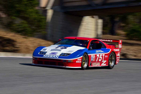 Craig Bennett - 1991 Nissan 300 ZX-T in Group 8 - 1981-1991 IMSA, GTO, GTP at the 2018 SCRAMP Monterey Pre-Reunion run at WeatherTech Raceway Laguna Seca