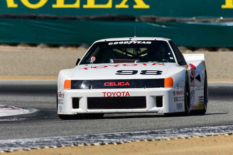Eric Edenholm - 1986 Toyota Celica in Group 8 - 1981-1991 IMSA, GTO, GTP at the 2018 SCRAMP Monterey Pre-Reunion run at WeatherTech Raceway Laguna Seca