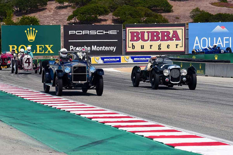 Group 1A - Pre-1940 Sports Racing and Touring Cars/Race cars and 1927-1951 Racing Cars at the 2018 SCRAMP Rolex Monterey Motorsports Reunion run at WeatherTech Raceway Laguna Seca