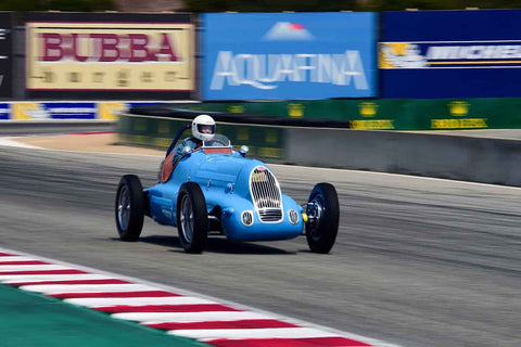 Mike Gertner - 1938 Bugatti Monoposto in Group 1A - Pre-1940 Sports Racing and Touring Cars/Race cars and 1927-1951 Racing Cars at the 2018 SCRAMP Rolex Monterey Motorsports Reunion run at WeatherTech Raceway Laguna Seca