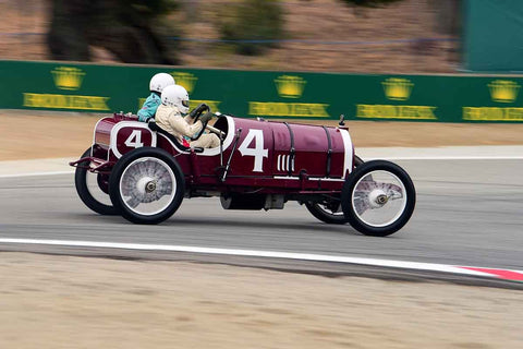 George Wingard - 1914 Mercer 45 in Group 1A - Pre-1940 Sports Racing and Touring Cars/Race cars and 1927-1951 Racing Cars at the 2018 SCRAMP Rolex Monterey Motorsports Reunion run at WeatherTech Raceway Laguna Seca