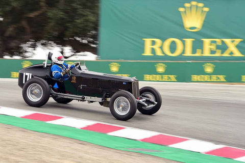 Richard Jeffery - 1936 Armstrong Siddeley Special in Group 1A - Pre-1940 Sports Racing and Touring Cars/Race cars and 1927-1951 Racing Cars at the 2018 SCRAMP Rolex Monterey Motorsports Reunion run at WeatherTech Raceway Laguna Seca