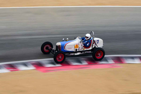 Dennis Howland - 1933 Ford Sprint in Group 1A - Pre-1940 Sports Racing and Touring Cars/Race cars and 1927-1951 Racing Cars at the 2018 SCRAMP Rolex Monterey Motorsports Reunion run at WeatherTech Raceway Laguna Seca