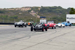 Group 2A - 1947-1955 Sports Racing and GT Cars at the 2018 SCRAMP Rolex Monterey Motorsports Reunion run at WeatherTech Raceway Laguna Seca