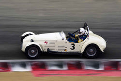 Terry Buffum - 1949 Jaguar Parkinson Special in Group 2A - 1947-1955 Sports Racing and GT Cars at the 2018 SCRAMP Rolex Monterey Motorsports Reunion run at WeatherTech Raceway Laguna Seca