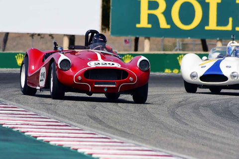 Ned Bacon - 1957 Proctor Special in Group 3A - 1955-1961 Sports Racing over 2000cc at the 2018 SCRAMP Rolex Monterey Motorsports Reunion run at WeatherTech Raceway Laguna Seca