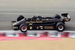 Gregory Thornton - 1982 Lotus 91 in Group 4A - 1967-1984 Formula One at the 2018 SCRAMP Rolex Monterey Motorsports Reunion run at WeatherTech Raceway Laguna Seca