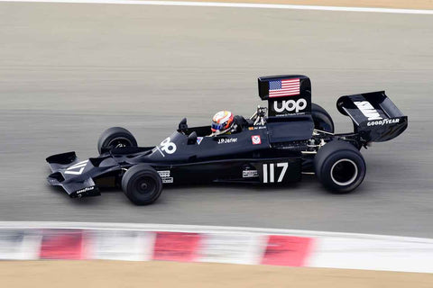 Tim de Silva - 1973 Shadow DN3 in Group 4A - 1967-1984 Formula One at the 2018 SCRAMP Rolex Monterey Motorsports Reunion run at WeatherTech Raceway Laguna Seca
