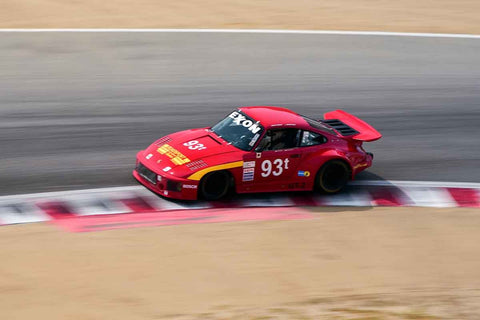 Tom Hedges - 1978 Porsche 930 Turbo in Group 5A - 1973-1981 FIA, IMSA, GT, GTX, GTU, AAGT at the 2018 SCRAMP Rolex Monterey Motorsports Reunion run at WeatherTech Raceway Laguna Seca