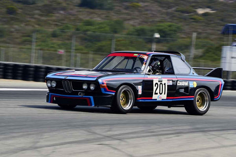 Robert Summerour - 1972 BMW CSL in Group 5A - 1973-1981 FIA, IMSA, GT, GTX, GTU, AAGT at the 2018 SCRAMP Rolex Monterey Motorsports Reunion run at WeatherTech Raceway Laguna Seca