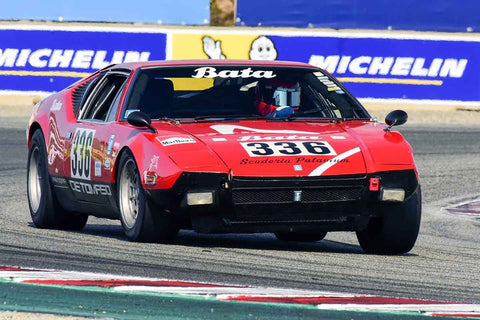 Dale Eriksen - 1972 De Tomaso Pantera in Group 5A - 1973-1981 FIA, IMSA, GT, GTX, GTU, AAGT at the 2018 SCRAMP Rolex Monterey Motorsports Reunion run at WeatherTech Raceway Laguna Seca