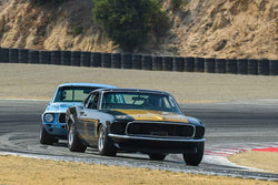 Ross Myers - 1969 Ford Mustang Boss 302 in Group 6A - 1966-1972 Trans-Am at the 2018 SCRAMP Rolex Monterey Motorsports Reunion run at WeatherTech Raceway Laguna Seca