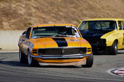Chris Liebenberg - 1968 Ford Mustang in Group 6A - 1966-1972 Trans-Am at the 2018 SCRAMP Rolex Monterey Motorsports Reunion run at WeatherTech Raceway Laguna Seca