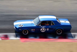 Karman Cusack - 1968 Ford Mustang in Group 6A - 1966-1972 Trans-Am at the 2018 SCRAMP Rolex Monterey Motorsports Reunion run at WeatherTech Raceway Laguna Seca