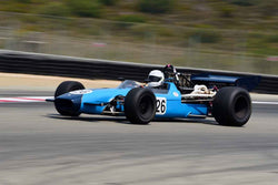 Timothy Osborne - 1968 Crossle 15F in Group 8A - 1968-1976 Formula 5000 at the 2018 SCRAMP Rolex Monterey Motorsports Reunion run at WeatherTech Raceway Laguna Seca
