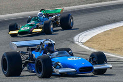 Craig Shrontz - 1968 Crossle 15F in Group 8A - 1968-1976 Formula 5000 at the 2018 SCRAMP Rolex Monterey Motorsports Reunion run at WeatherTech Raceway Laguna Seca