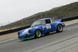 Jim Bouzaglou - 1973 Porsche 911 RSR in Group A - SCCA GT & IMSA RS at the 2018 SCRAMP Spring Classic run at Weathertech Raceway Laguna Seca