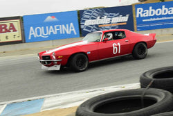 Tony Hart - 1972 Chevrolet Camaro Z28 in Group A - SCCA GT & IMSA RS at the 2018 SCRAMP Spring Classic run at Weathertech Raceway Laguna Seca