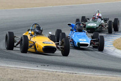 Nicholas Colyvas - 1969 Merlyn 11A in Group B - 1967-1980 Formula Ford at the 2018 SCRAMP Spring Classic run at Weathertech Raceway Laguna Seca
