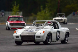 Gary Tisdale - 1972 Porsche 914/6 in Group 2/7a - Mid Bore Production/1973-1985 Production Car at the 2018 SOVREN Columbia River Classic run at Portland International Raceway